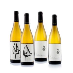 ארבעה יינות להט לבנים במחיר מיוחד לשבועות